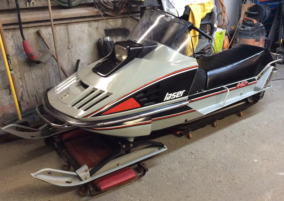 Davids vintage snowmobile page
