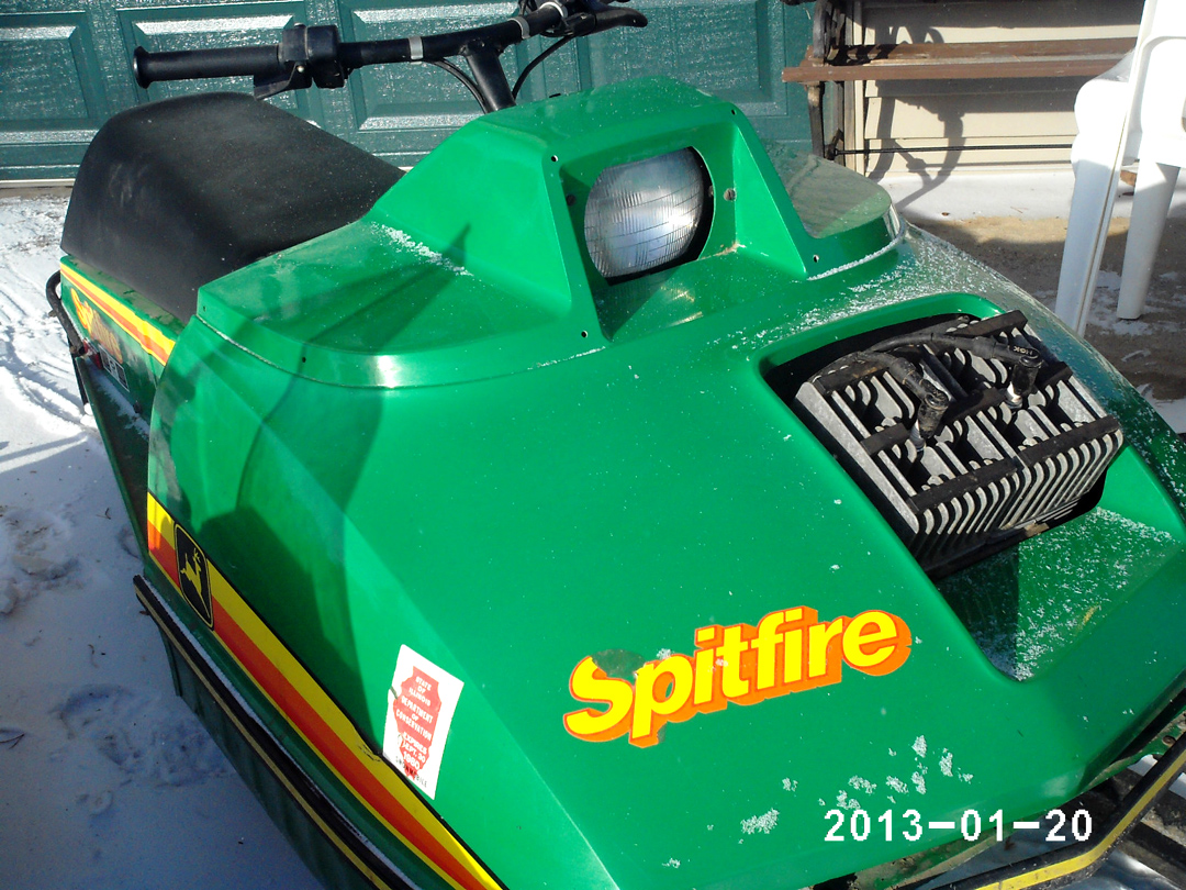 John Deere Spitfire Wiring Diagram : John deere snowmobiles parts tractor engine and