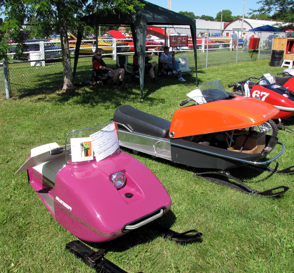 vintage snowmobile show ontario